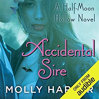 Accidental Sire audiobook cover art
