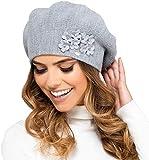 Kamea Damen Baskenmütze Kopfbedeckung Herbst Winter Arizona