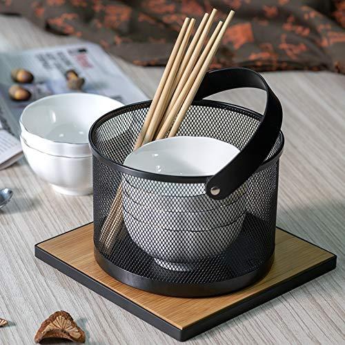 Küchenaufbewahrung Korb Tragbare Schmiedeeisen Küche Sonnenzähler Küchengeschirr Yangdandan0710.