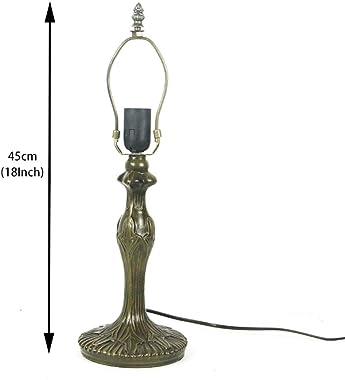 Tiffany lampe lampadaire haute mer bleu vitrail cristal perle libellule abat-jour E27 éclairage antique chambre salon