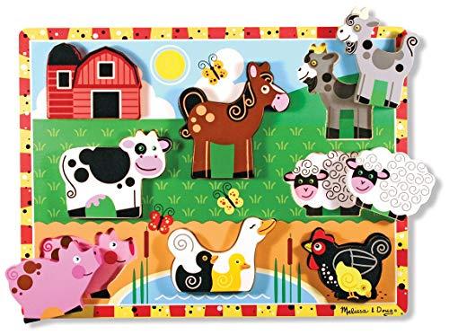 Melissa & Doug Farm Chunky puzzle 7 pièces 13723