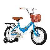 HUAQINEI Bicicleta Deportiva para niños de Primera Calidad con Soporte de Mano y Accesorios, Adecuada para niños de 2 a 13 años