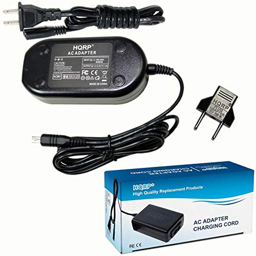 HQRP Charger AC Adapter Works with Samsung AA-E9 AA-E8 SC-DX103 SC-HMX10C SC-D382 SC-D450 SC-MX20 SC-MX20B SC-MX20H SC-MX20L SC-MX20R SC-MX20C SC-MX20CH SC-D5000 SC-D560 SC-D590 SC-D6000 Camcorder