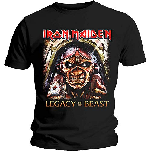 Iron Maiden Aces High Legacy of The Beast T-Shirt Official Merchandise