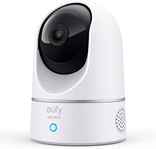 lowest eufy Security Solo IndoorCam P24, 2K Pan 2021 & online sale Tilt Security Indoor Camera, Plug-in Camera with Wi-Fi, Human & Pet AI, Voice Assistant Compatibility, Night Vision, Motion Tracking, HomeBase not Compatible outlet sale
