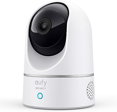 eufy Security 2K Caméra Surveillance WiFi Intérieure de Sécurité du Domicile, Détection des Humains et Animaux par l'...