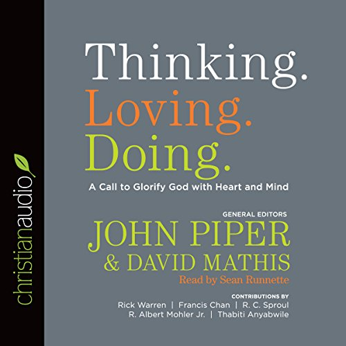 Thinking. Loving. Doing. cover art