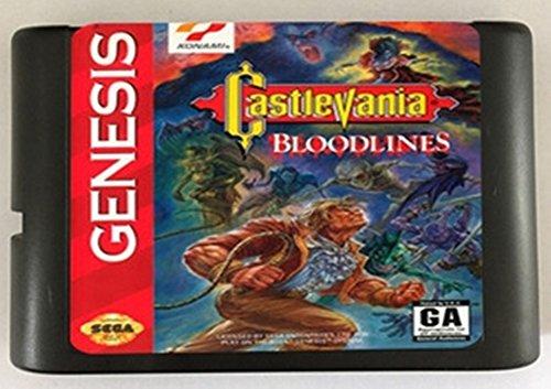 Castlevania Bloodlines nur NTSC-U erhältlich für 16 Bit Sega MegaDrive Genesis Sega Spielekonsole