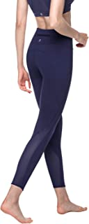 LAPASA Women's Yoga Pants High Waist Sports Leggings Tummy Control Tights for Workout & GYM Hidden Pocket L01&L22