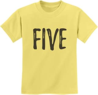 Tstars - 5th Birthday Gift for Five Year Old Child Youth Kids T-Shirt