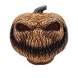 Decoración de Halloween malos linternas de calabaza, iluminadas espeluznantes linternas de calabaza de Halloween, celebración de las fiestas en interiores y exteriores, funciona con pilas