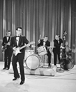 Photo Buddy Holly 8 x 10 Glossy Picture Image #1