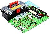 Wghz School Science Labs Kit Base per l'apprendimento del Circuito Elettrico di Base, Kit didattici per esperimenti sul magnetismo, Kit per l'esplorazione dell'elettromagnetismo Set per Bambini E