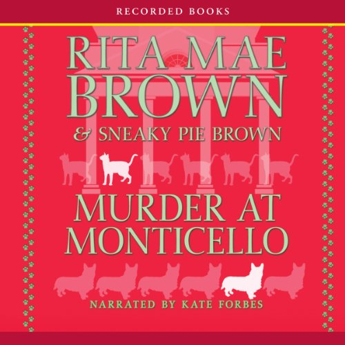 Murder at Monticello audiobook cover art