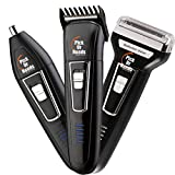 Pick Ur Needs Professional Shaver and 3 in 1 Beard, Nose and Ear