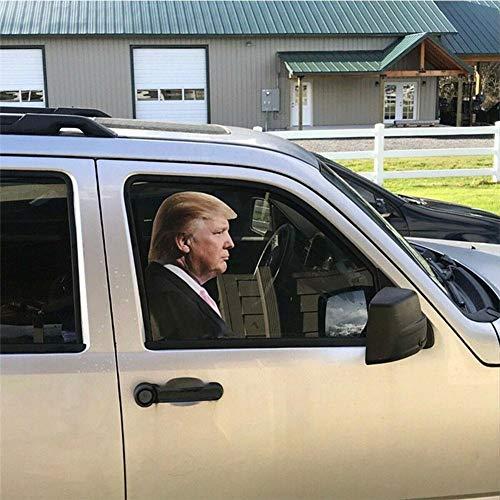 N/J Auto Fenster Aufkleber, Zeichen Mit Donald Trump Auto Und LKW Reflektierende Autoaufkleber Für Auto, Van, LKW, Taxi, Minikabine, Bus, Bus