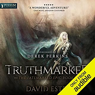 Truthmarked     The Fatemarked Epic, Book 2              Written by:                                                                                                                                 David Estes                               Narrated by:                                                                                                                                 Derek Perkins                      Length: 22 hrs and 23 mins     10 ratings     Overall 4.6