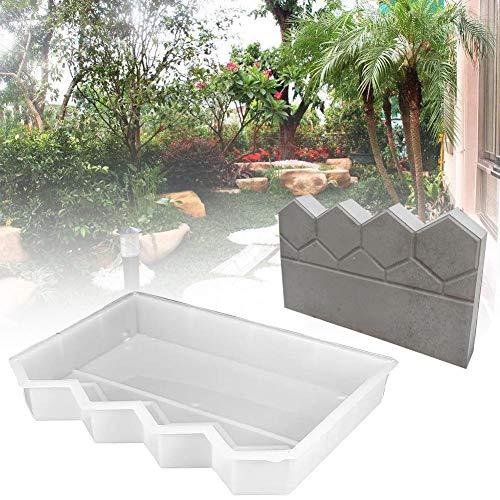 DIY Bordure De Jardin - Moule De Clôture en Plastique 40 X 26 X 6 Cm Cour Jardin Clôtures Béton Ciment Antique Clôture Moule DIY Artisanat Maison Jardin Ornement Décor