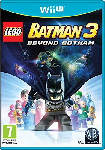 LEGO BATMAN 3 BEYOND GOTHAM WII U MIX