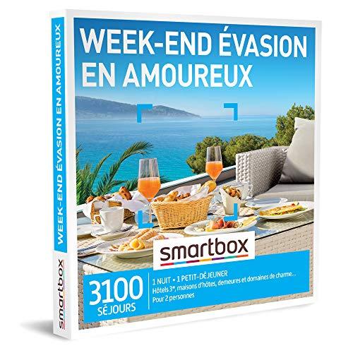 Smartbox - Coffret Cadeau Femme Homme - Week-End évasion en...
