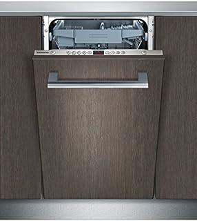 Siemens SR65M082EU Totalmente integrado 10cubiertos A+ lavavajilla - Lavavajillas (Totalmente integrado, Acero inoxidable, Botones, 1,75 m, 1,65 m, 2 m)