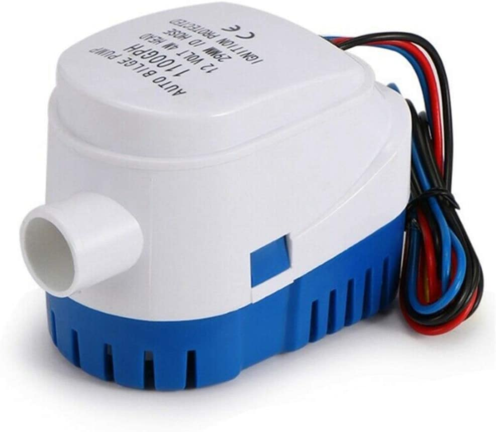 Automatic Submersible Bilge Pump Drainage Small OFFicial mail order Mesa Mall 7501100GPH