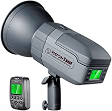 Neewer VISION5 400Ws 2.4G TTL Flash Strobe Compatible with Nikon DSLR Cameras, 1/8000s HSS Monolight with Wireless Trigger,6000mAh Battery to Cover 500 Full Power Shots Recycle in 0.01-2.8 Sec
