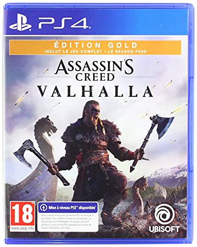 Assassin's Creed Valhalla - Édition Gold - PS4