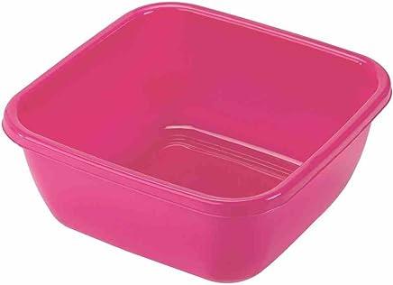Preisvergleich für Heidrun Spülschüssel, Spülwanne, 38 x 38 x 15 cm, 15 l, Farblich Sortiert, 1 Stück, aus Kunststoff