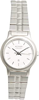 Casual Watch for Women by Accurate, Silver, Round, ALQ661