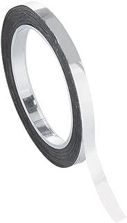 Chartpak Graphic Art Tape, 1/8 W x 324 L Inches, Chrome Mylar Metallic, 1 Roll (BG12519)