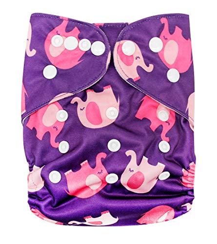 Happy Cherry Pannolino lavabile e riutilizzabile Mutandine di Apprendimento Impermeabili Mutande Vita elastica assorbente per Bambino e Bambina