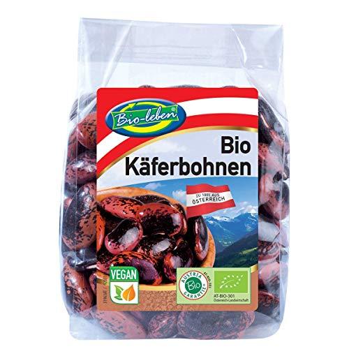 Bio Käferbohnen 100% aus Österreich 7x200g glutenfrei, öko, österreichische Käfer-Bohnen, für Bohnen Salat, extra Qualität 1,4kg