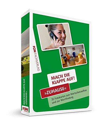 Mach die Klappe auf - Zuhause: Bildkarten zur Sprachförderung (Mach die Klappe auf / Bildkarten)
