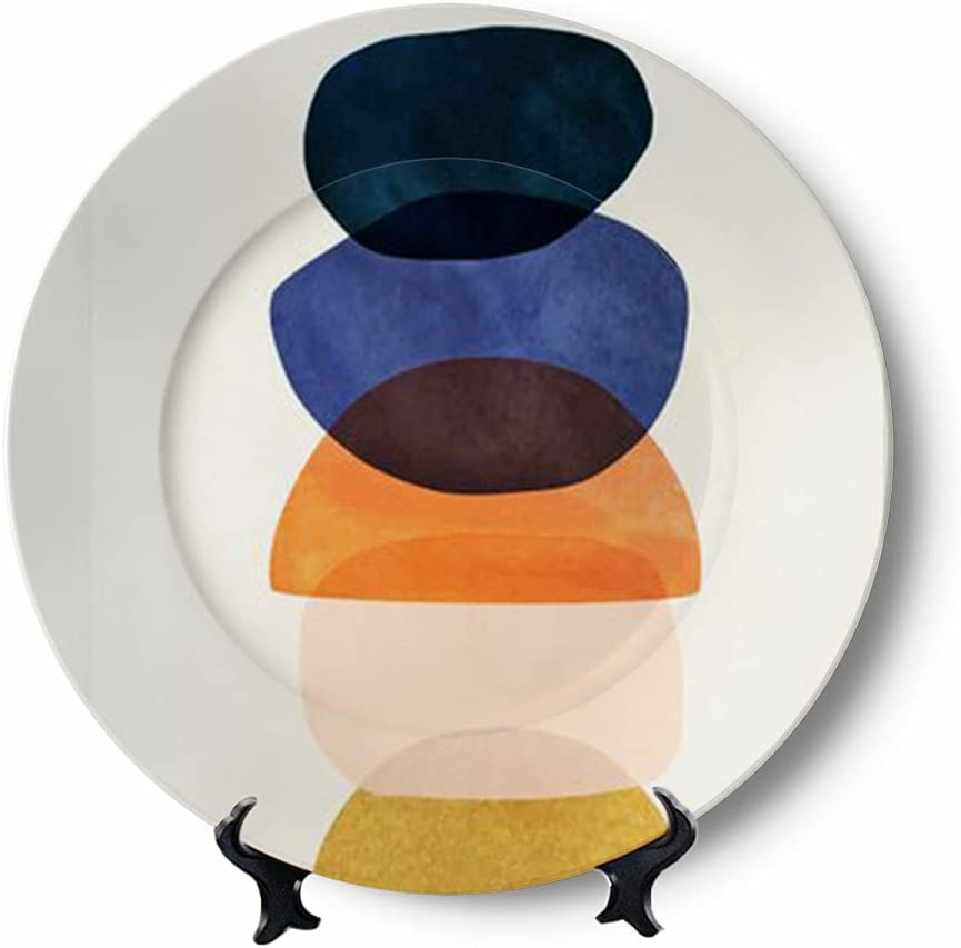 Art Deco Decorative Plates Display Handmade Hanging Ceramic Wall Discount Louisville-Jefferson County Mall is also underway