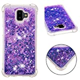 Galaxy 2018 A8Plus Case, Awesome Glitter Flowing Floating
