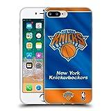 Head Case Designs Licenciado Oficialmente NBA Estandarte 2019/20 New York Knicks Carcasa de Gel de Silicona Compatible con Apple iPhone 7 Plus/iPhone 8 Plus