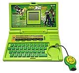 OUD 20 Activities Ben 10 English Laptop/Notebook Toy for Kids