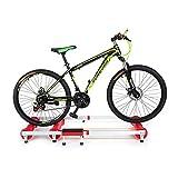 Soporte para entrenador de bicicletas para uso doméstico, ejercicio, ejercicio, marco fijo para bicicletas de carretera de montaña para entrenamiento en interiores, la mayoría de los tipos de bicicle