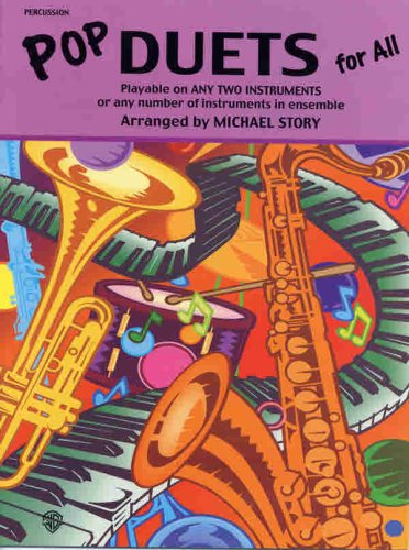 Pop Duets for All: Percussion (For All Series)