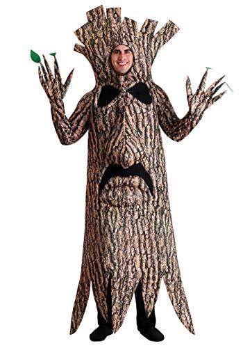 Disfraz de árbol aterrador para adulto -  Marrón -  3X