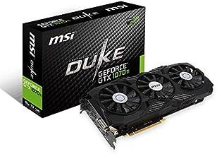 MSI Gaming GeForce GTX 1070 Ti 8GB GDRR5 256-bit HDCP Support DirectX 12 SLI TriFrozr Fan VR Ready Graphics Card (GTX 1070...