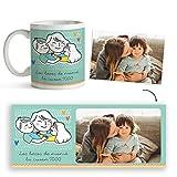 Fotoprix Taza Personalizada con Foto para Mamá | Regalo Original día de la Madre | Varios diseños Disponibles. (Diseño: Madre 1)