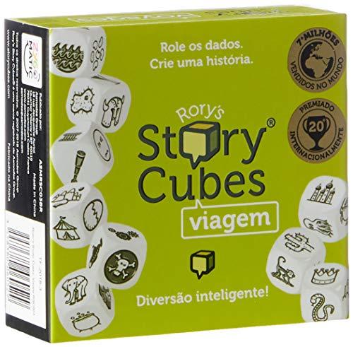 Rory Story Cubes. Viagem, Galápagos Jogos, Multicor