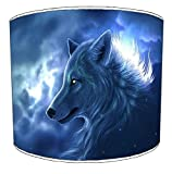 12 Inch Ceiling Wolf lampshade 19