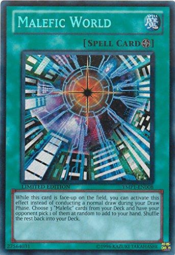 Yu-Gi-Oh! - Malefic World YMP1-EN008 Secret Rare - Bonds Beyond Time