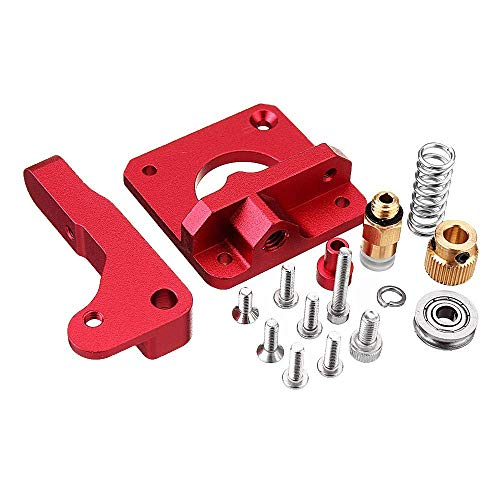 YASE-king Accessories, 3D Printer Upgraded Long-Distance Remote Metal Extruder+Leveling Spring+PETG Tube+MK10 Silicone Case Kit For Creality CR-10 Ender-3 printer