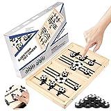 Zaloife Brettspiel Hockey, Katapult Brettspiel, Bouncing Hockey, Bouncing Brettspiel, Puck Game,...