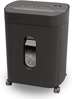 Sentinel Shredders FX150P 15 Sheet Crosscut Paper Shredder – Pullout Basket, Casters