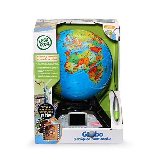 Cefa Toys Leapfrog Globo Terráqueo InteractivoMultimedia ¡DESCUBRE Nuestro Maravilloso Planeta, Niños, Azul,...
